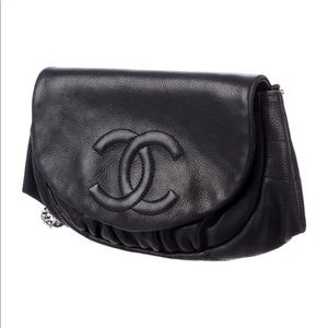 Chanel WOC Timeless CC leather Cross Body Bag